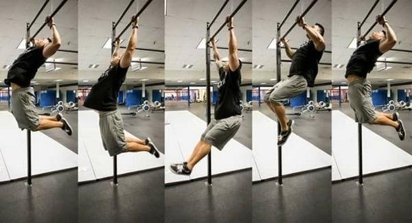 butterfly pull up progression