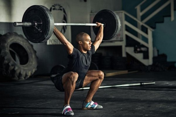 overhead squat Crossfit