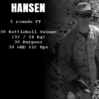 wod hero crossfit hansen