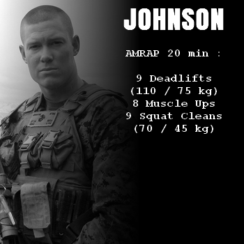 wod hero crossfit johnson