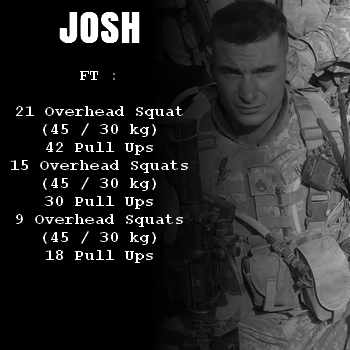wod hero crossfit josh