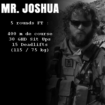 wod hero crossfit mr joshua