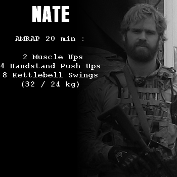 wod hero crossfit nate