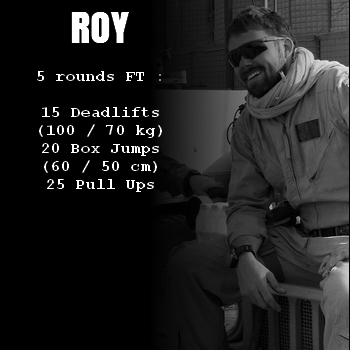 wod hero crossfit roy