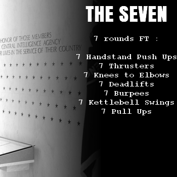 wod hero crossfit the seven