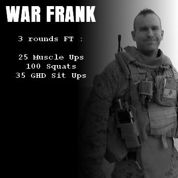 wod hero crossfit war frank