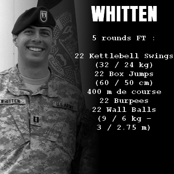 wod hero crossfit whitten